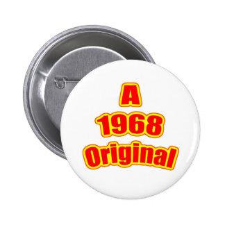 Rojo original 1968 pins