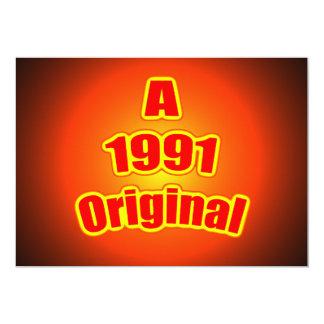 Rojo original 1991 anuncio