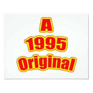Rojo original 1995 anuncio personalizado