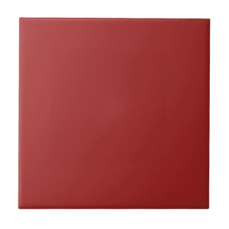 Rojo oscuro azulejo cuadrado pequeño