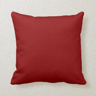 Rojo oscuro cojines