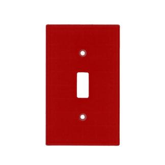 Rojo oscuro de Apple de caramelo Cubierta Para Interruptor