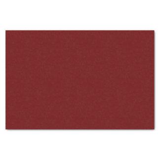 Rojo oscuro para hacer juego el tintineo hasta el papel de seda pequeño