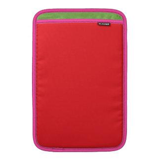 Rojo perfecto fundas para macbook air