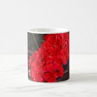 Rojo permanente taza