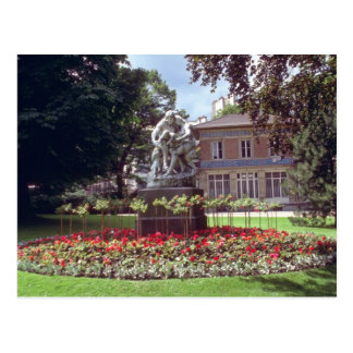 ¿Rojo? pernay, región de Champán, flores de Franci Postales