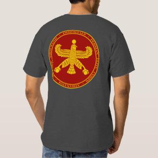 Rojo persa de los Immortals y camisa del sello del