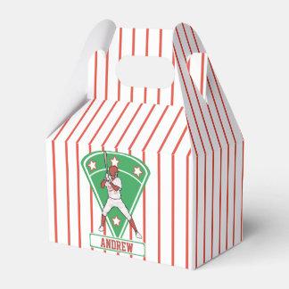 Rojo personalizado de la estrella del talud del caja para regalos