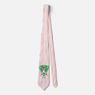 Rojo personalizado de la estrella del talud del corbata personalizada