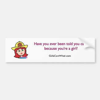 Rojo principal del bombero pegatina para auto