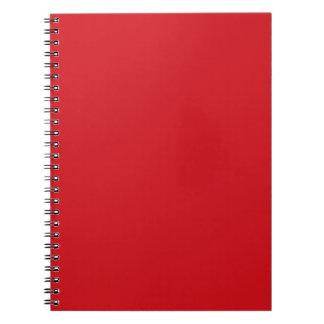 Rojo puro libreta