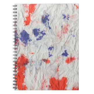 rojo púrpura anaranjado 2 towel.jpg de papel arrug spiral notebooks