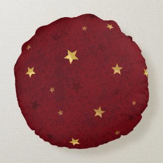 Rojo real de las estrellas que brilla