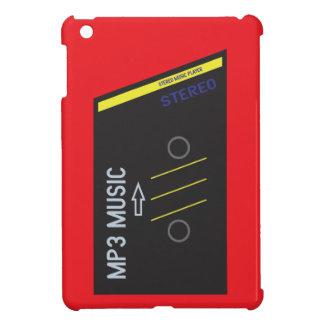 ROJO retro del jugador de Cassete iPad Mini Funda