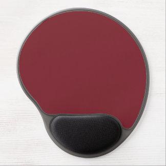 Rojo. Rojo de rubíes antiguo. Tendencias del color Alfombrillas De Ratón Con Gel