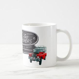 Rojo Rover de los armas y de los vagabundos Taza De Café