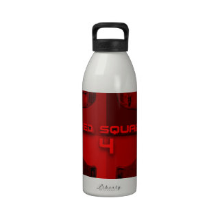 Rojo RS4 Botellas De Agua Reutilizables