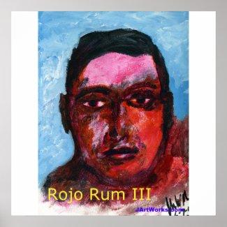 Rojo Rum III print