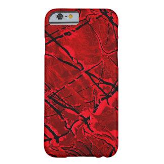~ ROJO SANGRE DE ROYALE FUNDA DE iPhone 6 BARELY THERE