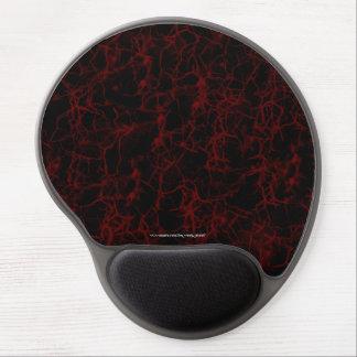 Rojo secreto alfombrillas con gel