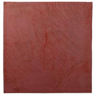 Rojo sólido servilleta