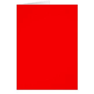 Rojo Felicitacion