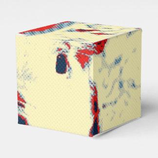 rojo toony del cochinillo dulce caja para regalos