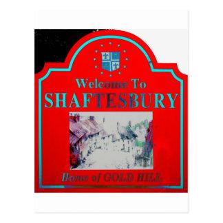 Rojo Torquise de Shaftesbury Postal