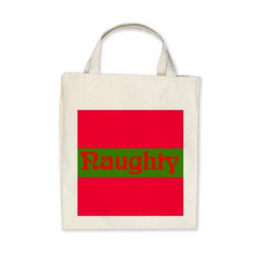 Rojo travieso en verde bolsa