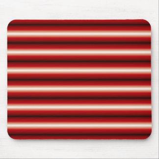 rojo una línea negra modelo mousepads
