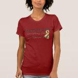 Rojo viernes de la hermana del ejército camisetas