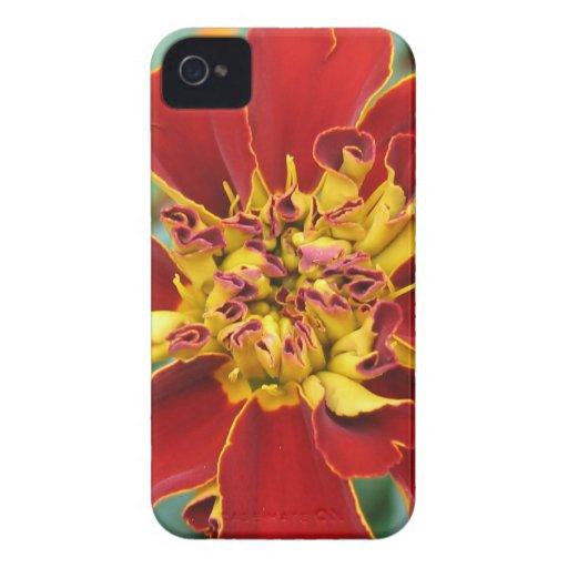 Rojo y amarillo Case-Mate iPhone 4 protector