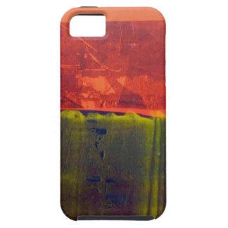 Rojo y azul funda para iPhone SE/5/5s