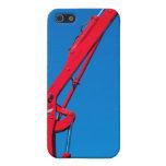 Rojo y azul iPhone 5 cárcasa