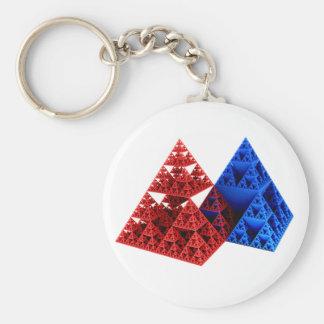 Rojo y azul pero NO Khufu… Llaveros Personalizados
