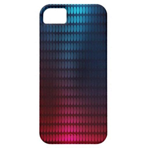 Rojo y azul puntea el caso de Iphone 5 Funda Para iPhone SE/5/5s