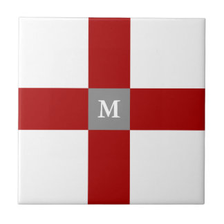 Rojo y baldosa cerámica modificada para requisitos azulejos cerámicos