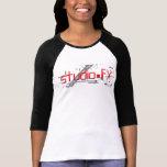 Rojo y blanco de SFX Camisetas