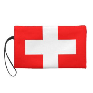 Rojo y blanco suizos de Suiza del amor de la bande