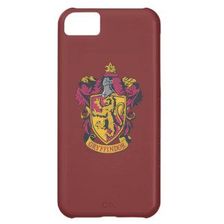 Rojo y oro del escudo de Gryffindor Funda Para iPhone 5C
