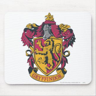 Rojo y oro del escudo de Gryffindor Mouse Pads