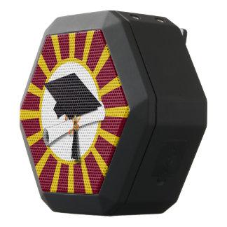 Rojo y oro (ENFOQUE de los colores de la escuela Altavoces Bluetooth Negros Boombot REX