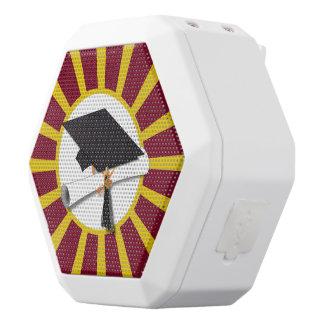Rojo y oro (ENFOQUE de los colores de la escuela Altavoces Bluetooth Blancos Boombot REX