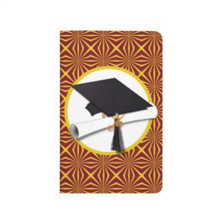Rojo y oro (ENFOQUE de los colores de la escuela Cuaderno Grapado
