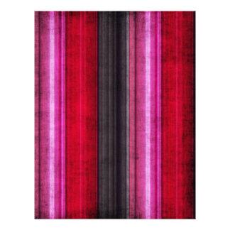 Rojo y papel apenado rosa del libro de recuerdos membrete