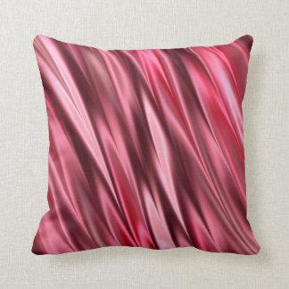 Rojo y rosado Cerise Cojín Decorativo