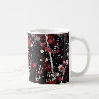 Rojo y taza gris II de la dispersión