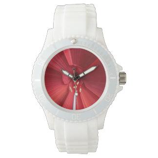 Rojo y Weis mi Color Reloj