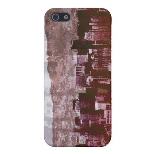 Rojos de San Citysco iPhone 5 Protectores