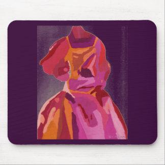 Rojos del otoño del fashionista de la diva mouse pad